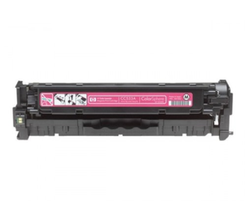 Картридж HP Color CC533A magenta (I категории)